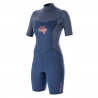 Edge Shorty V-Zip 2/2 Costum neopren feminin