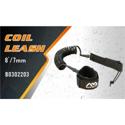 Coil Leash 8'/7mm